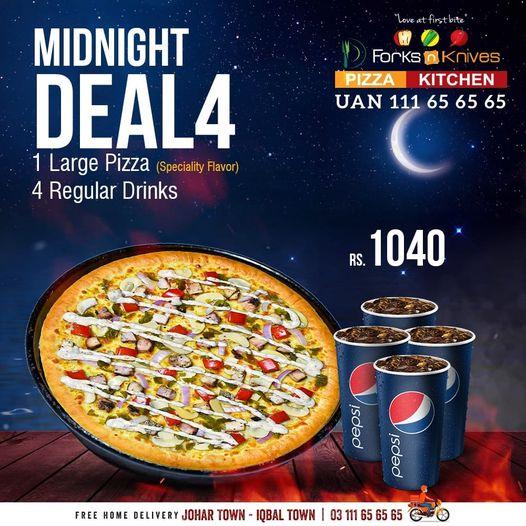 Forks N Knives - Midnight Deal