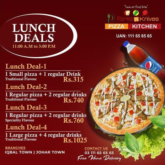 Forks N Knives - Lunch Deals