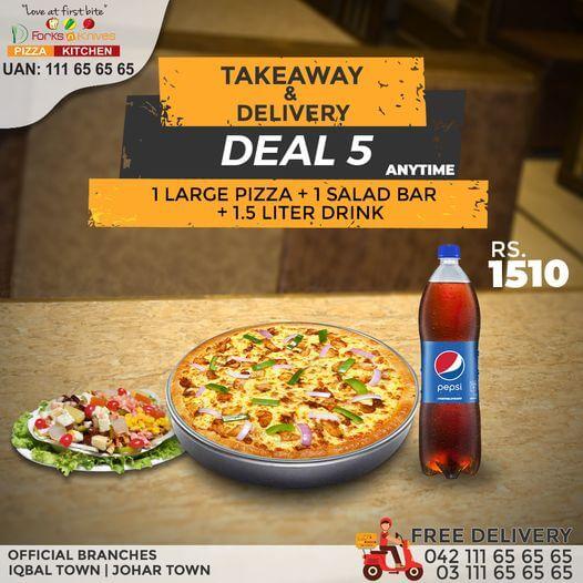 Forks N Knives - Takaway & Delivery Deal