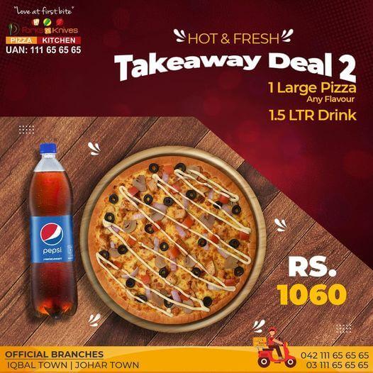 Forks N Knives - Takeaway Deal 2