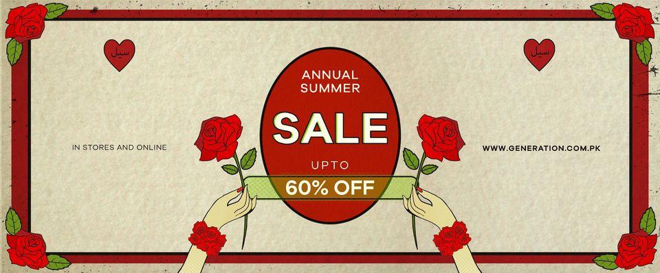 Generation - Annual Summer Sale