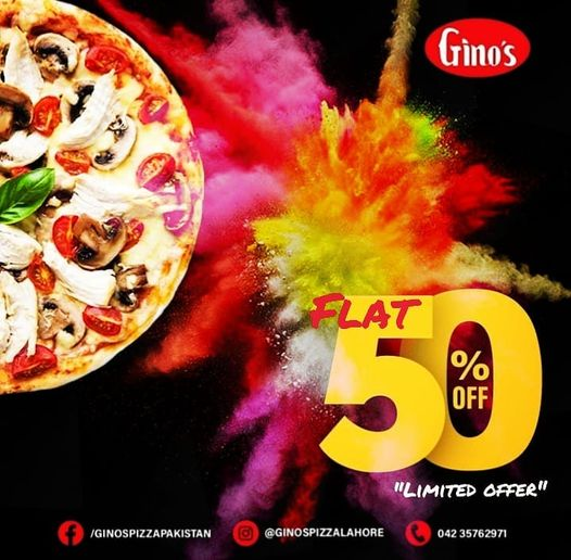 Gino's - Pizza Sale