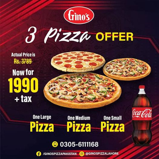 Gino's - Pizza Deal