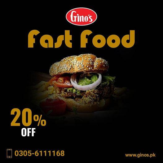 Gino's - Burger  Deal