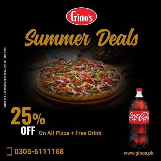 Gino's - Summer Deal