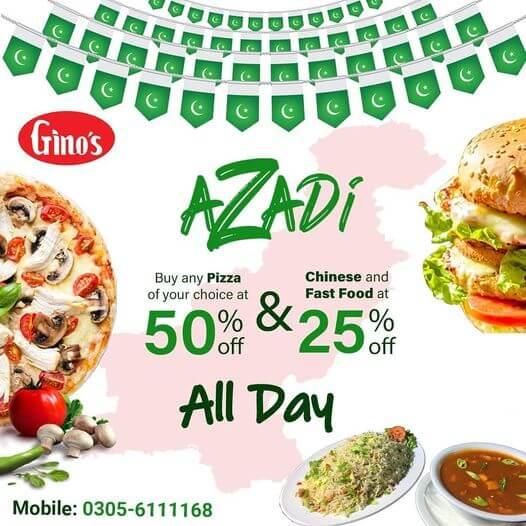 Gino's - Azadi Deal