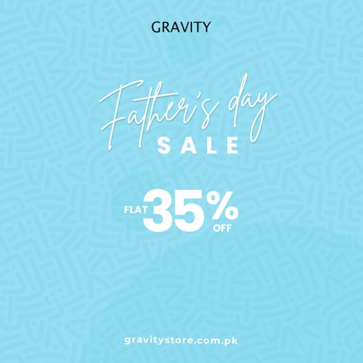 Gravity - Father's Day Sale
