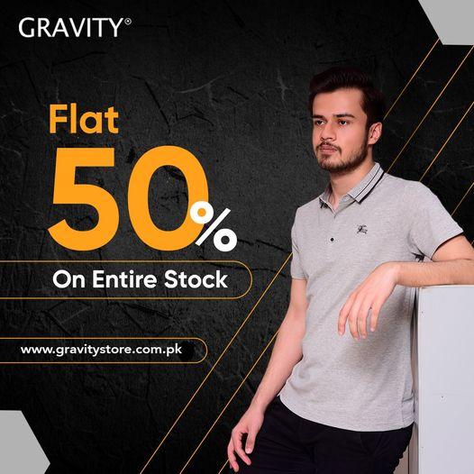 Gravity - Flat Sale