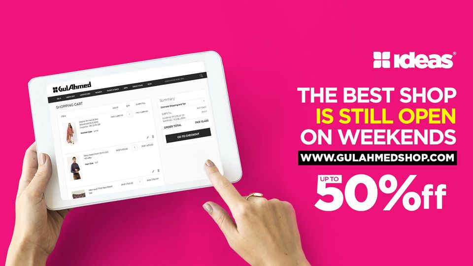 Gul Ahmed - Weekend Sale