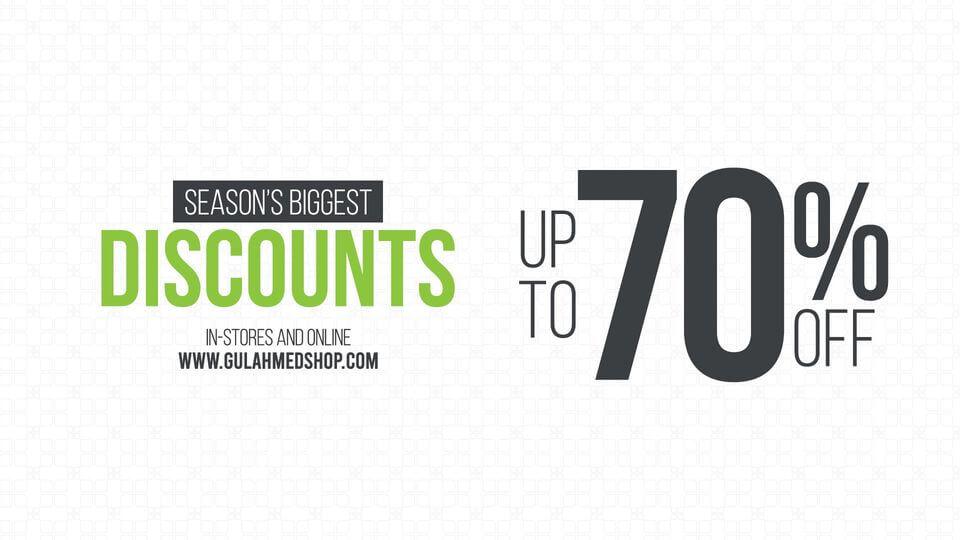 Gul Ahmed - Season Biggest Sale