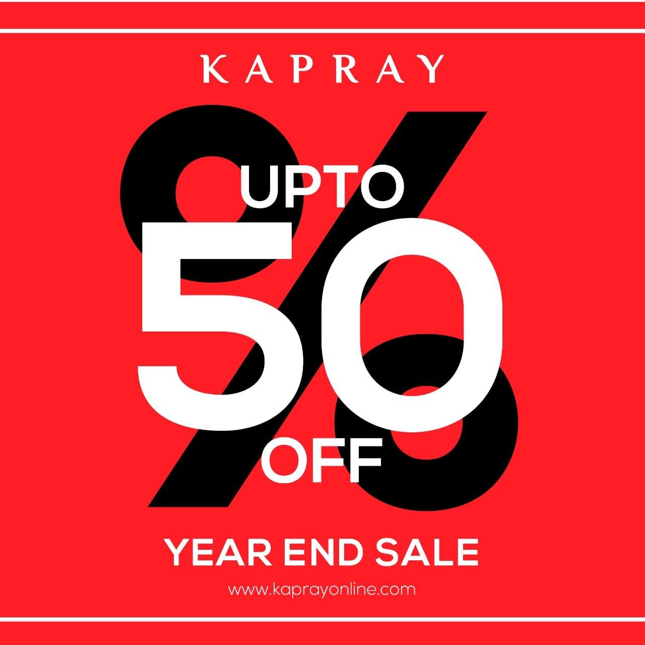 Kapray - Year End Sale