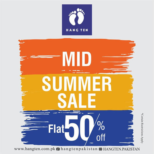 Hang Ten - Mid Summer Sale