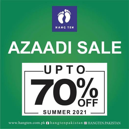 Hang Ten - Azadi Sale