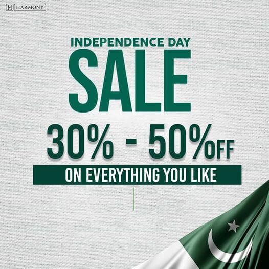 Harmony Pakistan - Independence Day Sale
