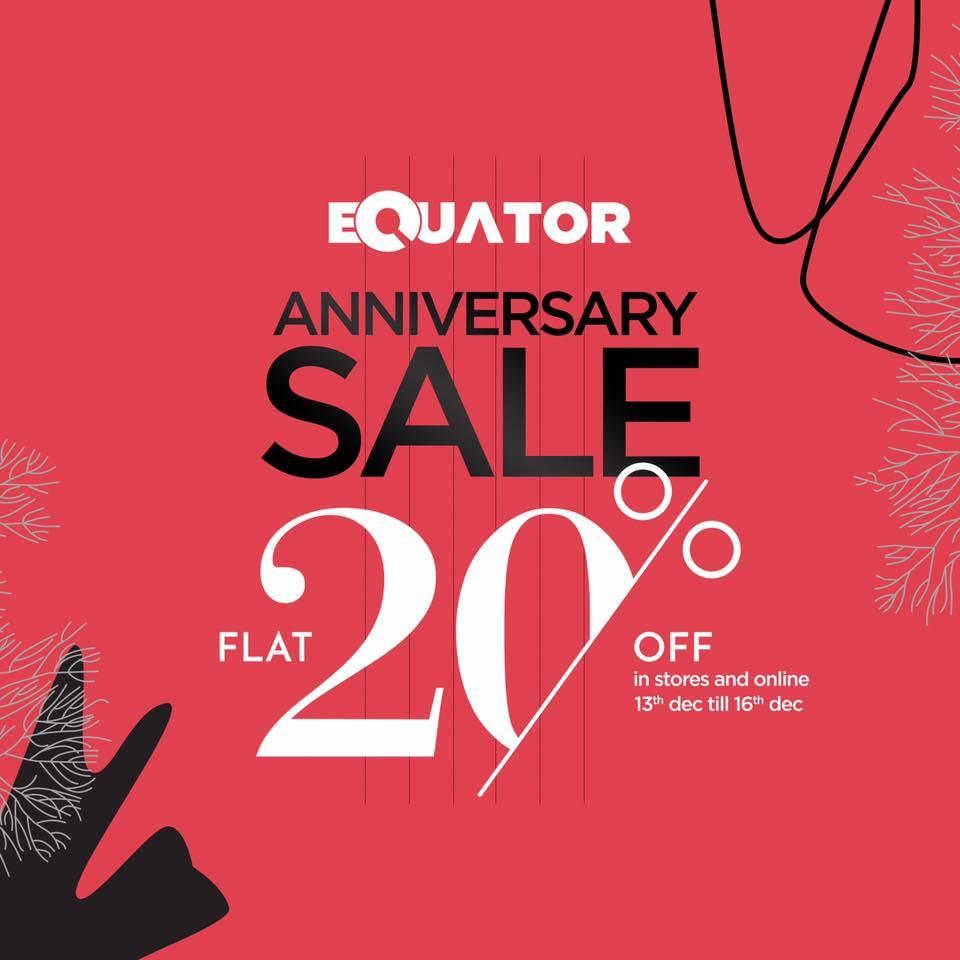 Equator  - Anniversary Sale 18'