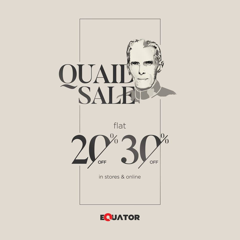 Equator  - QUAID DAY SALE