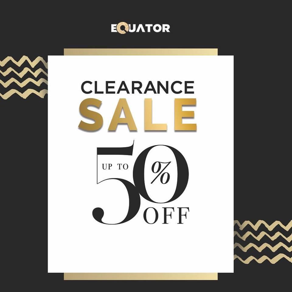 Equator  - End Of Season Sale