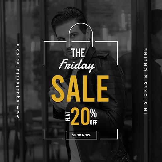 Equator  - The Friday Sale