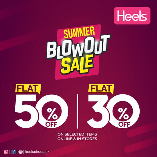 Heels - Summer Blowout Sale
