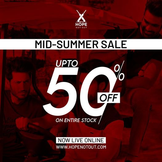 Hope Not Out - Mid Summer Sale