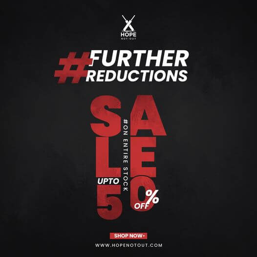 Hope Not Out - Further Reductions Sale