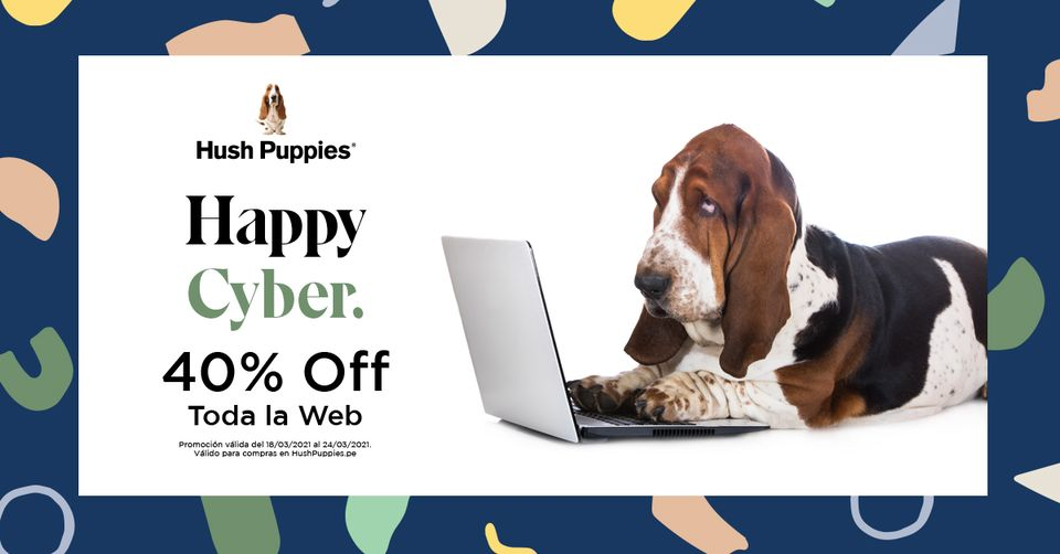 Hush Puppies - Happy Cyber Sale