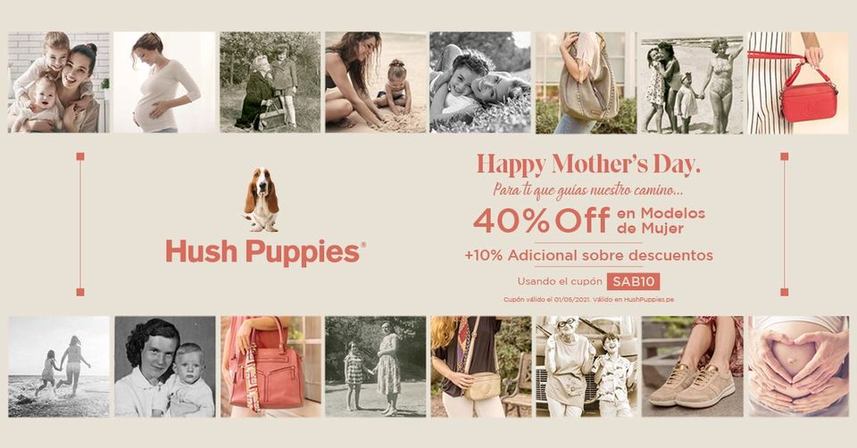 Hush Puppies - Mother's Day Sale