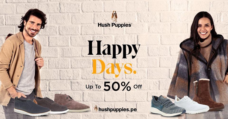 Hush Puppies - Happy Days Sale