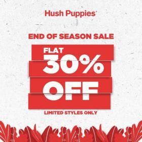Hush Puppies - End Of Season Sale
