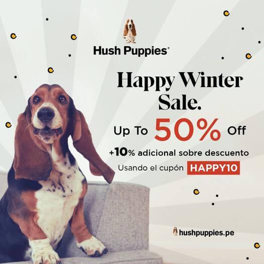 Hush Puppies - Happy Winter Sale