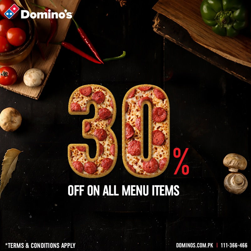 Dominos -  Let's Spice Up The Week