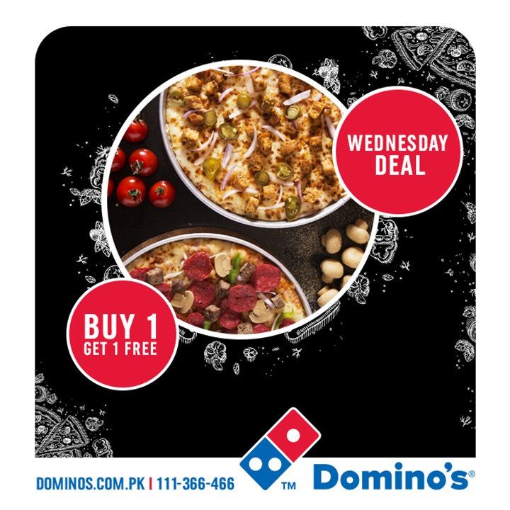 Dominos - Whacky Wednesday Deal