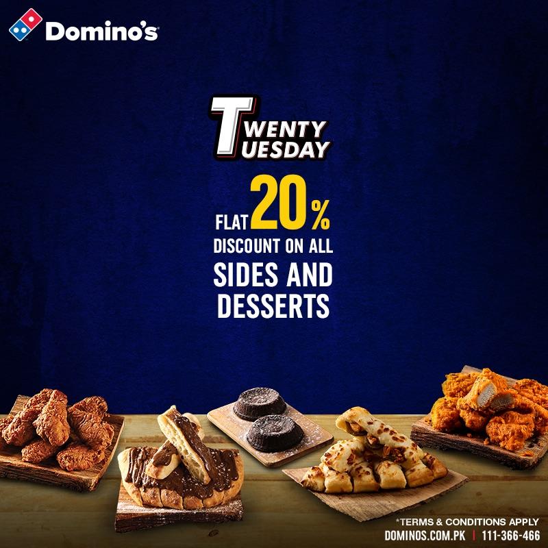 Dominos - Twenty Tuesday