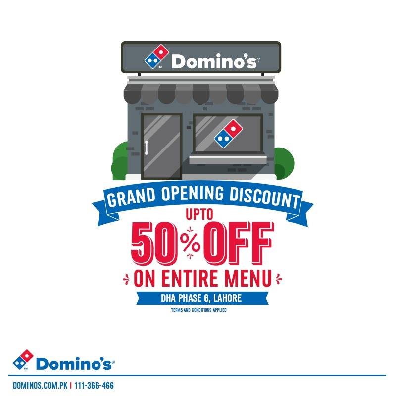 Dominos - GRAND CELEBRATION!