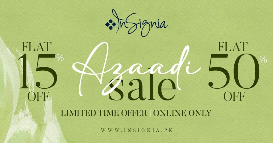 Insignia - Azadi Sale