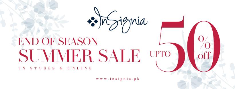 Insignia - End Of Season Sale