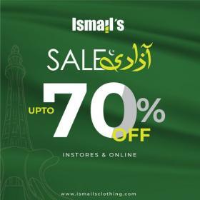 Ismail's - Azadi Sale