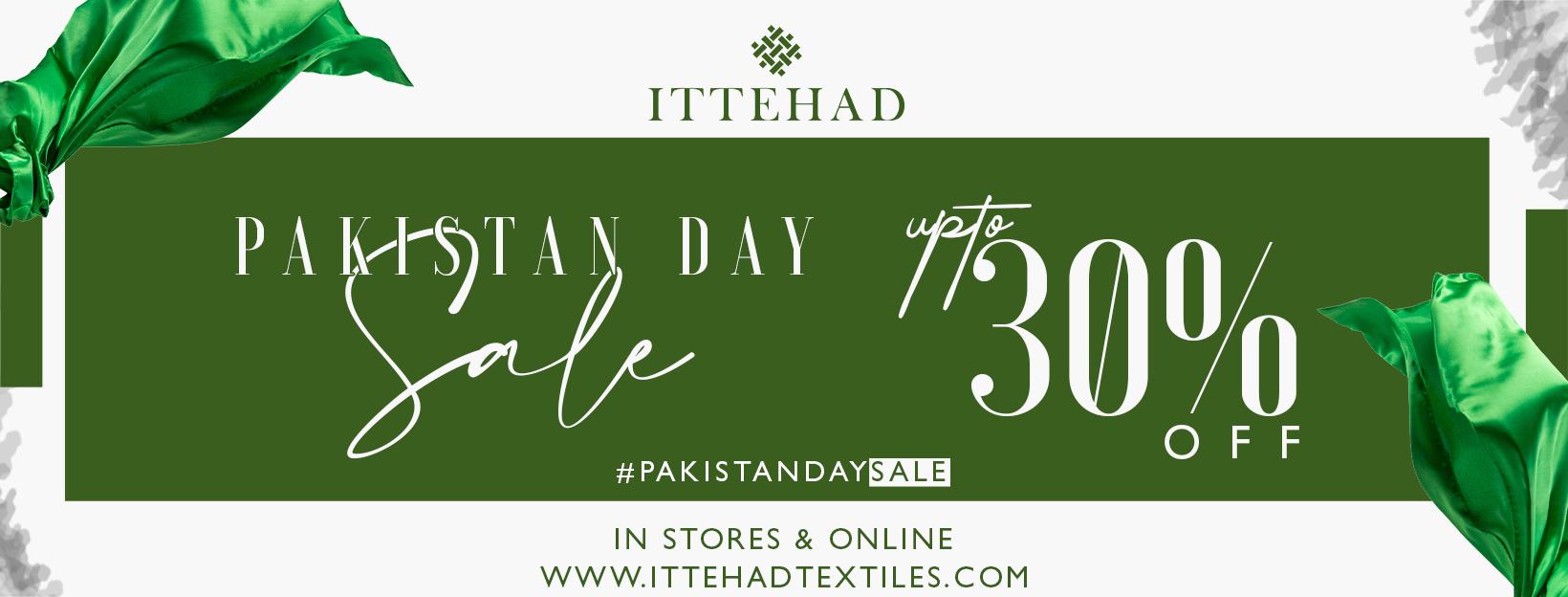 Ittehad - Pakistan Day Sale