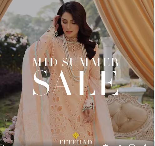 Ittehad - Mid Summer Sale