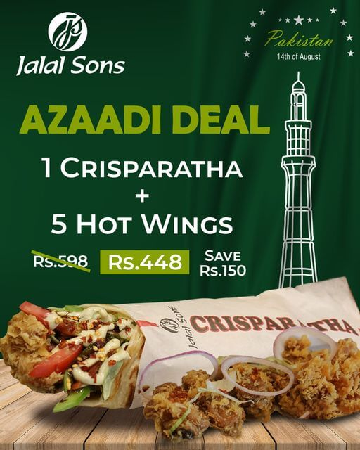 Jalal Sons - Independence Day Sale