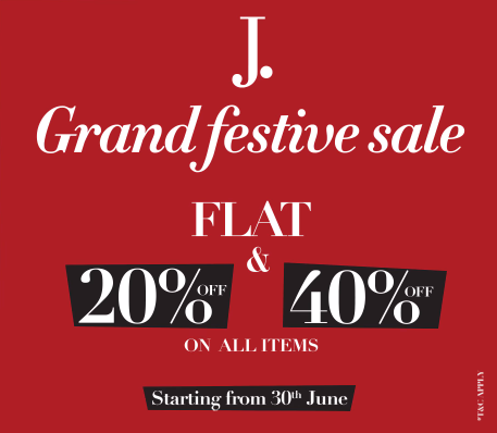 Junaid Jamshed - Grand Festival Sale