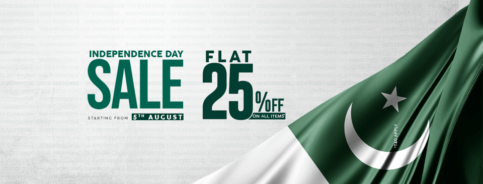 Junaid Jamshed - Independence Day Sale