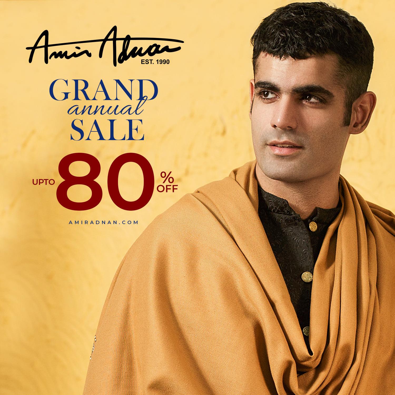 Amir Adnan - GRAND ANNUAL SALE