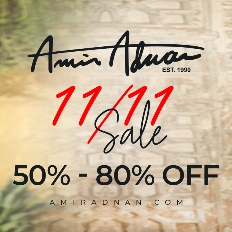 Amir Adnan - 11/11 SALE