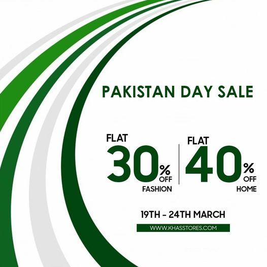 Khas Stores - Pakistan Day Sale