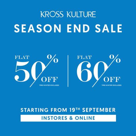 Kross Kulture - Season End Sale