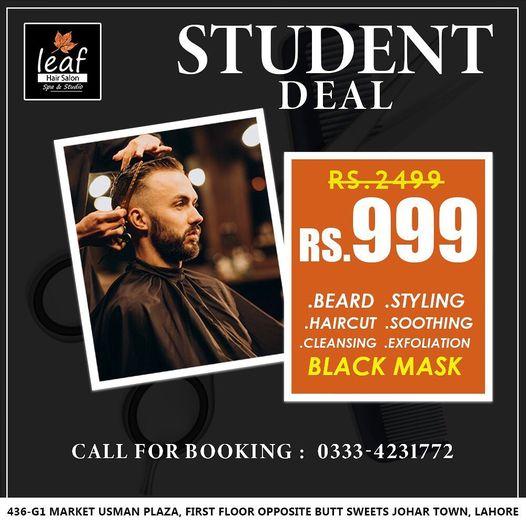 Leaf Hair Salon & Spa - Student Deal