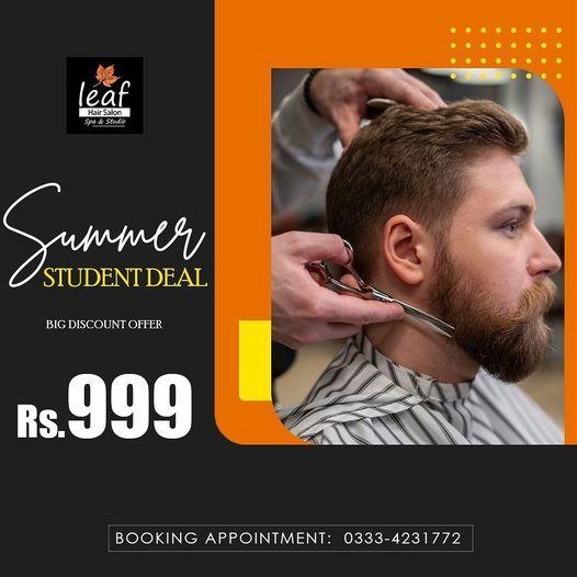 Leaf Hair Salon & Spa - Summer Student Deal
