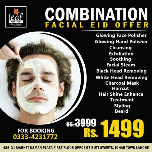 Leaf Hair Salon & Spa - Eid Deal