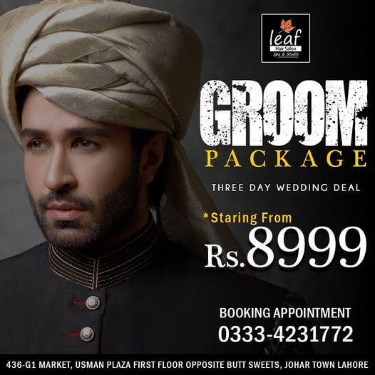Leaf Hair Salon & Spa - Groom Deal